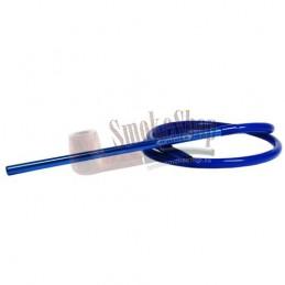 Silikónová hadica na vodnú fajku AMY - Komplet - Modrá