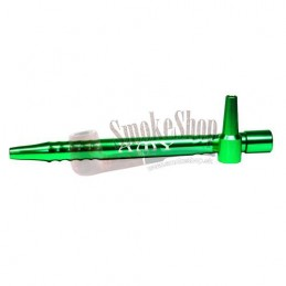 Náustok na vodnú fajku Kovový AMY - Zelený