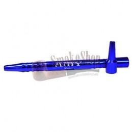 Náustok na vodnú fajku Kovový AMY - Modrý