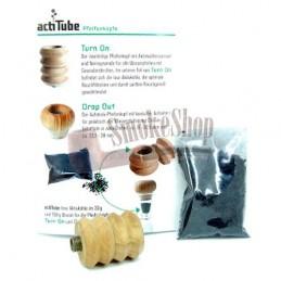 Kotol šluk na bongo - uhlíkový šluk Actitube