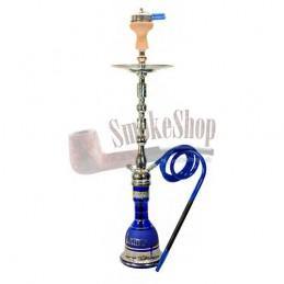 Vodná fajka AMY Sharqi - blue 100cm