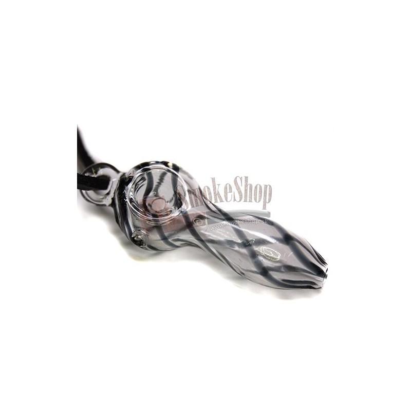 Šlukovka pyrex Zebra