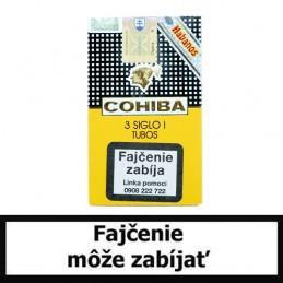 Cigary COHIBA Siglo I. Tubos - Balenie 3 ks
