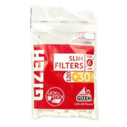 Cigaretové filtre Gizeh Slim 120 ks