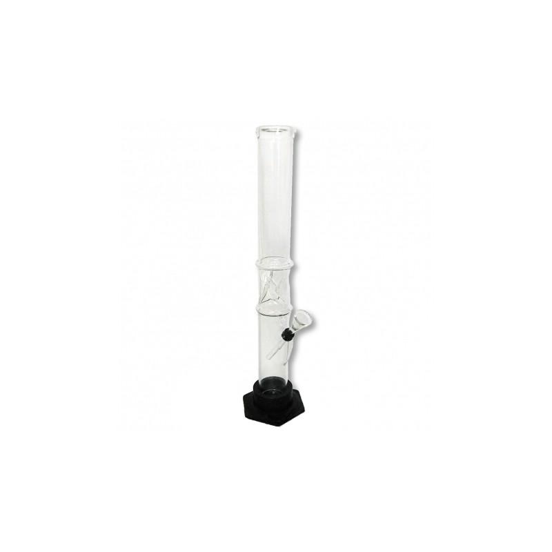 Bong Plain Glass 39 cm