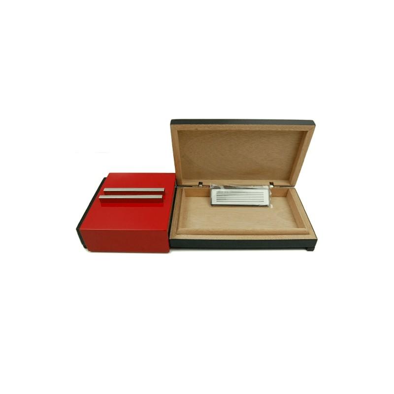 Humidor s popolníkom Red