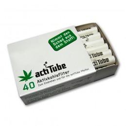 Uhlíkové filtre ActiTube 40 ks (8mm)