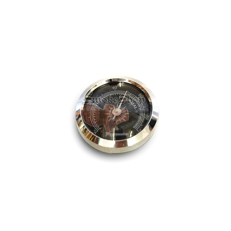 Hygrometer Black do humidoru na cigary