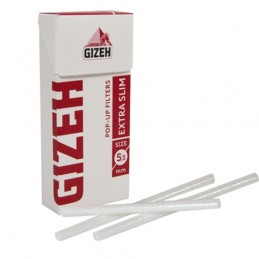 Cigaretové filtre Gizeh extra slim 126 ks