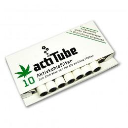 Uhlíkové filtre ActiTube 10 ks (8mm)