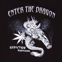 Rasta tričko Smoking Dragon