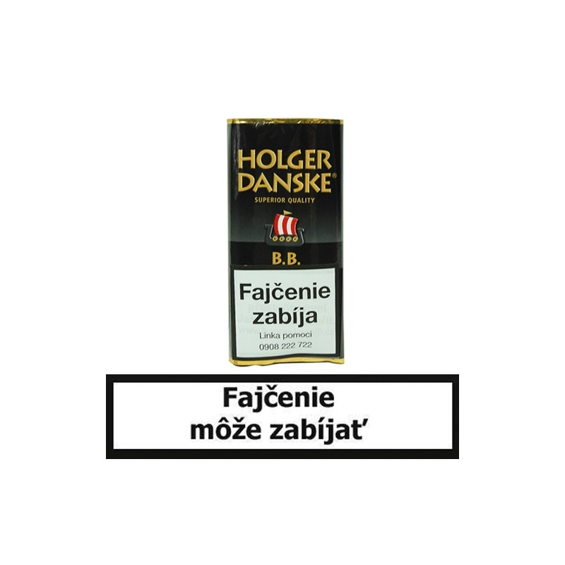 Fajkový tabak Holger Danske Black & Bourbon 40g