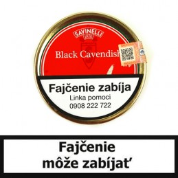 Fajkový tabak Savinelli Mister G Black Cavendish 50g