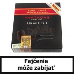 Balenie cigár Partagas No6  po 5 ks.
