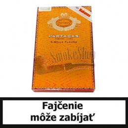 Cigary Partagas Mille Fleurs - Balenie 5 ks