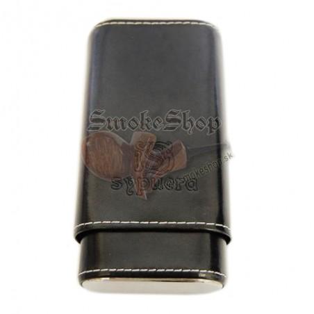 Púzdro na cigary Sypuera čierne na 3 cigary