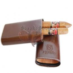 Púzdro na cigary Sypuera hnedé