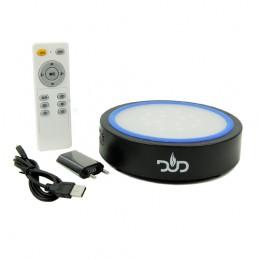 Hudobná LED Light podložka pod vodnú fajku - bluetooth (DUD)