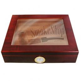 Humidor na cigary Gastro Teakwood kristalglas V-240