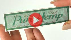 Cigaretové papieriky Pure Hemp King Size odkaz na video