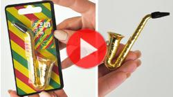 šlukovka fajka saxofon so sitkami odkaz na video
