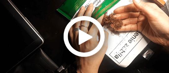 ako ubaliť cigaretu video návod