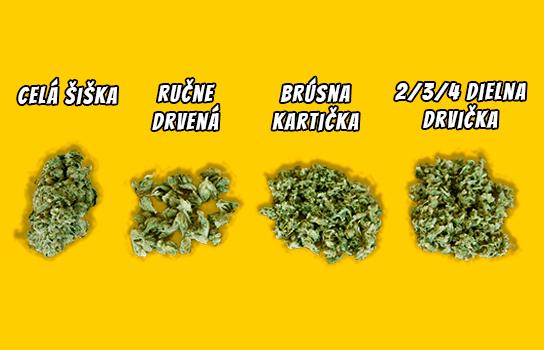 spôsoby ako drviť marihuanu