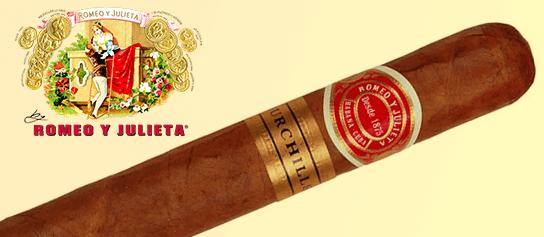 Kubánske cigary Romeo y julieta