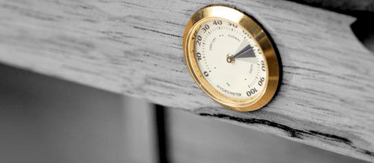 hygrometer na humidore